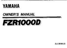 Buy Yamaha 3LJ-28199-23 Motorcycle Manual by download #334137