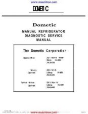 Buy Dometic RM2501 Service Manual by download Mauritron #337941