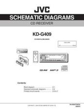 Buy JVC KD-G409-9 Service Manual by download Mauritron #281939