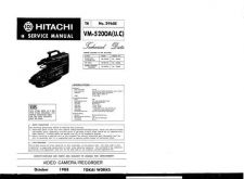 Buy Hitachi VME530A Service Manual by download Mauritron #286864