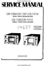 Buy KENWOOD CS1021 Service Information by download Mauritron #328599