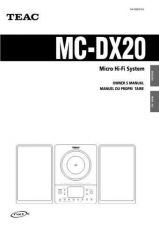 Buy Teac MCDV250EFSC Operating Guide by download Mauritron #318883