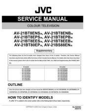 Buy JVC AV21BT7EPS AV21BT7EPB-2 Service Manual by download Mauritron #279577
