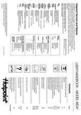 Buy Hotpoint WD43 Laundry Operating Guide by download Mauritron #314126