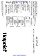 Buy Hotpoint 9316 Dryer Operating Guide CDC-2298 by download Mauritron #317208
