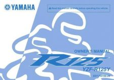 Buy Yamaha 5D7-F8199-20 Motorcycle Manual by download #334384