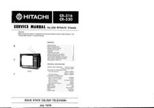 Buy Hitachi CR320 Service Manual by download Mauritron #289345