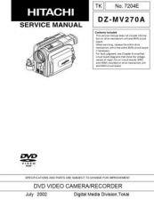Buy Hitachi TK-7204E Service Manual by download Mauritron #286561