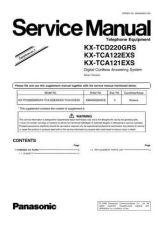 Buy Panasonic KX-TCA121FXS Manual by download Mauritron #299698