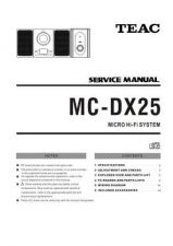 Buy Teac MC-DX40DAB Service Manual by download Mauritron #319451