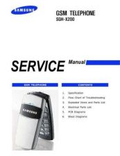 Buy Samsung SGH-X200 Mobile Phone Service Manual by download Mauritron #306457