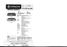 Buy Hitachi VTFX340EUK Service Manual by download Mauritron #287257