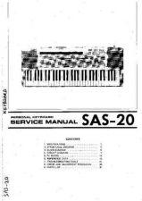 Buy Korg SAS-20 by download #333353