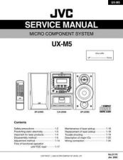 Buy JVC UX-M3R-[9] Service Manual by download Mauritron #284406