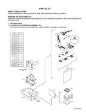 Buy JVC GR-DX27E_par Service Manual by download Mauritron #274272