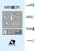 Buy Minolta Vectis s100 e Camera Operating Guide by download Mauritron #320962
