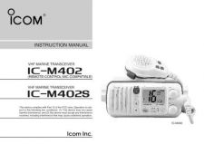Buy Icom ICF21GM Land Mobile Operating Guide by download Mauritron #317324