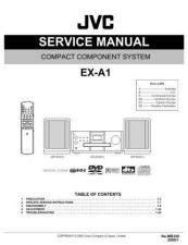 Buy JVC EX-A1-12 Service Manual by download Mauritron #273969