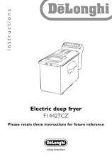 Buy De Longhi F14427B Fryer Operating Guide by download Mauritron #316404