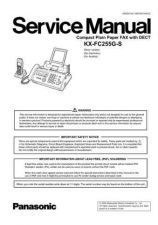 Buy Panasonic KMF0607990CE_FC255G-S Manual by download Mauritron #299428