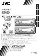 Buy JVC KD-G402-KD-G401 Service Manual by download Mauritron #281926