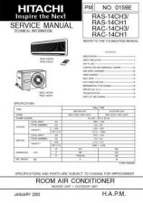 Buy Hitachi RAS09GH4 - RAC09GH4 Service Manual by download Mauritron #286119