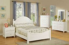 Buy 4-Pcs Twin / Full Bed Room Set(Bed+N+M+D) Every Feminine Desire F Plush Styled