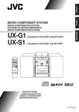 Buy JVC UX-G1-44 Service Manual by download Mauritron #277084