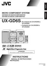Buy JVC UX-GD6S-2 Service Manual by download Mauritron #284311