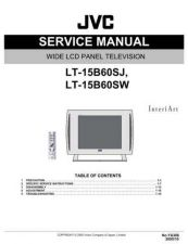 Buy JVC LT-15B60SW Service Manual by download Mauritron #282640