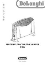Buy De Longhi HCS Convector Heater Operating Guide by download Mauritron #316433