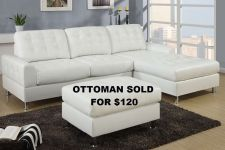 Buy Modern Sectional Contemporary Sofa Sectional Couch Leather Sofa 2 pc Set #F7308