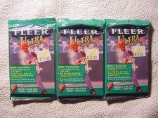 Buy 3 new 1999 Fleer ULTRA baseball HOBBY PACK - sealed