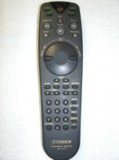 Buy Fisher RVR 4911 Remote Control - FVH4511 FVH4911 RVR4911 6450038891 VCR CATV TV