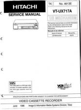 Buy Hitachi VTUX717A Service Manual by download Mauritron #285962