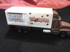 "Buy Hot Wheels @ 1998 Mattel Whoppers ""Over the Road"" Truck with sliding door!"