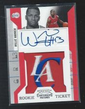 Buy 2010-11 Contenders Patches Willie Warren RC AUTO LA Clippers Oklahoma Jersey