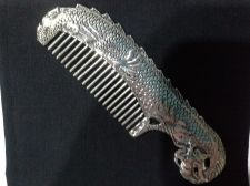 Buy Tibet LADIES Fine Jewelry COMB Silver and White Copper RARE Collectible Item