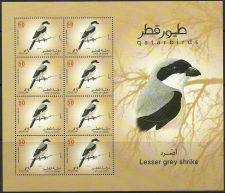 Buy Qatar 2009 Birds 6 MS + Booklet ( 6 Stamps )