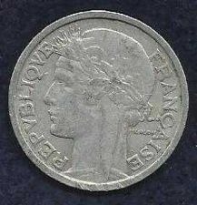 Buy FRANCE 2 FRANCS 1943 COIN WWII Currency