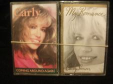 Buy CARLY SIMON CASSETTE MUSIC LOT (2) COMING AROUND AGAIN & MY ROMANCE