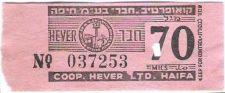 Buy COOPERATIVE. HEVER LTD .HAIFA