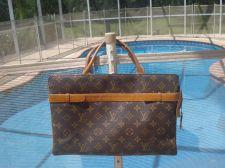 Buy Louis Vuitton Rare Pristine Vintage French Company Usa Roomy Brown Bag - Satchel