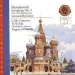 Buy Shostakovich: Symphony No. 5; Cello Concerto No. 1 by Shostakovich,Ma,Bernstein