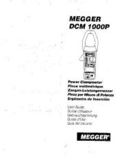 Buy AVO DCM1000P Operating Guide by download Mauritron #309021