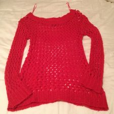 Buy red wetseal sweater