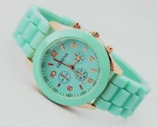 Buy Silicone Crystal Jelly Watch #506 Free shipping