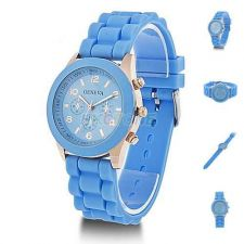 Buy Silicone Crystal Jelly Watch #507 Free shipping