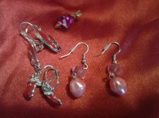 Buy Three sets of Fashionable Ear Rings & Cupid Pin !!!