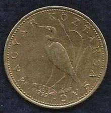 Buy Hungary 2nd Republic 5 Forint White Egret 1999 Coin